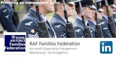 Screenshot of the RAF FF's page on LinkedIn
