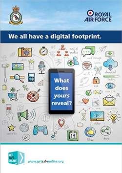 RAF Digital Footprint Leaflet