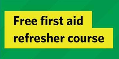 free first aid refresher course