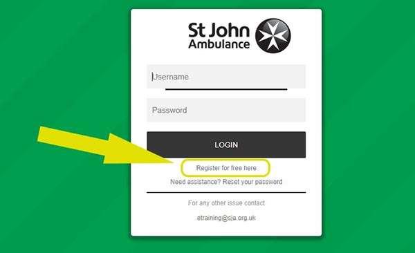 St John Ambulance Refresher Course guidance