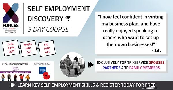 x-forces self employment workshop Sept 2020