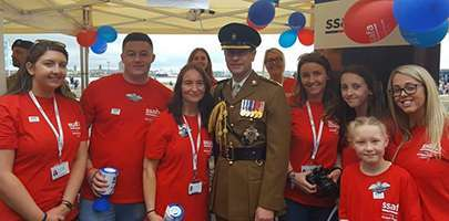 Amey exceeds SSAFA fundraising target