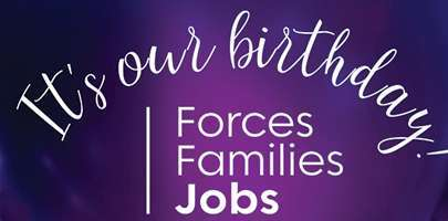 Forces Families Jobs 1st birthday message web story image.