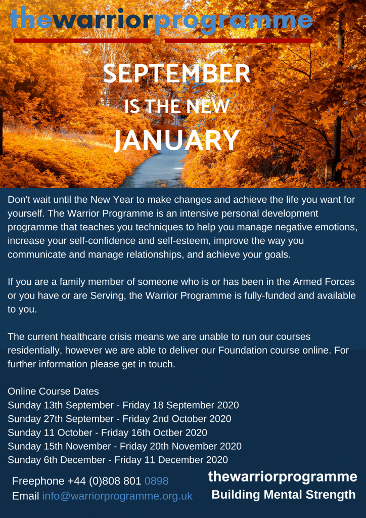 The Warrior programme poster