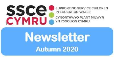 Screenshot of the SSCE Cymru Autumn Newsletter.