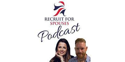 recruit for spouses podcast